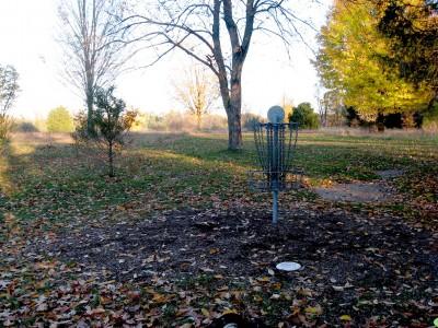 Hudson Mills Metropark, Original course, Hole D Reverse (back up the fairway)