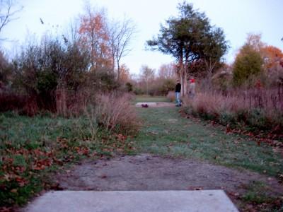 Hudson Mills Metropark, Original course, Hole 18 Long tee pad