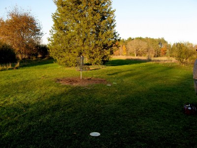Hudson Mills Metropark, Original course, Hole C Reverse (back up the fairway)