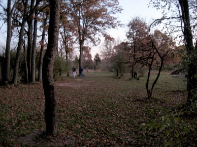 Hudson Mills Metropark, Original course, Hole 17 Long approach