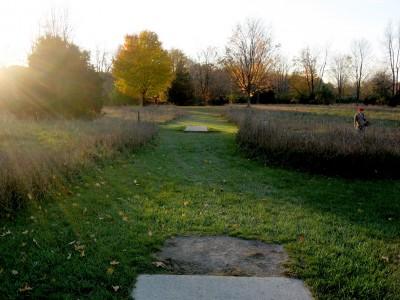 Hudson Mills Metropark, Original course, Hole D Long tee pad