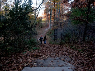 Hudson Mills Metropark, Original course, Hole 6 Long tee pad