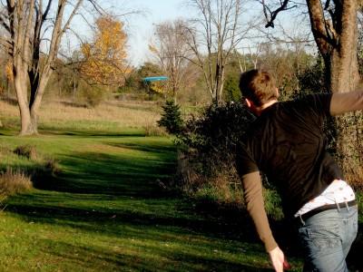 Hudson Mills Metropark, Original course, Hole A Short tee pad