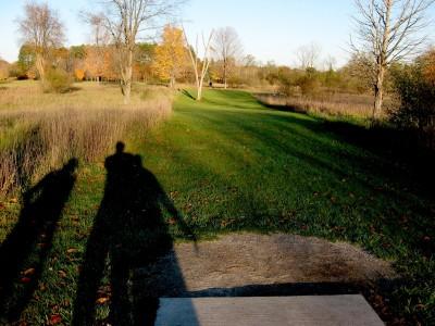 Hudson Mills Metropark, Original course, Hole B Short tee pad