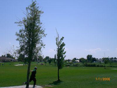 Exposition Park, Main course, Hole 5 Tee pad