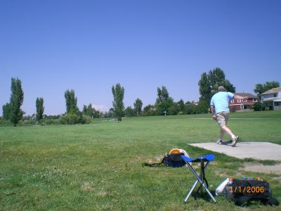 Exposition Park, Main course, Hole 6 Tee pad