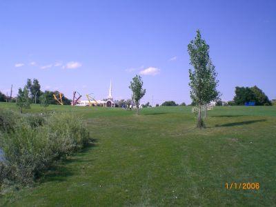 Exposition Park, Main course, Hole 13 Alternate pin (reverse)