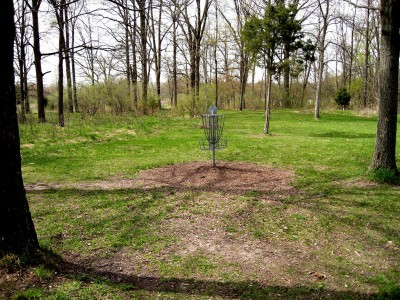 Hudson Mills Metropark, Monster course, Hole 13 Reverse (back up the fairway)