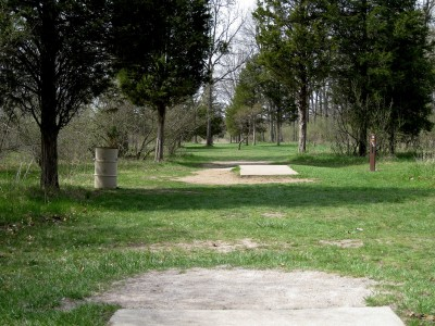 Hudson Mills Metropark, Monster course, Hole 12 Long tee pad