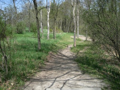 Hudson Mills Metropark, Monster course, Hole 1 Long tee pad