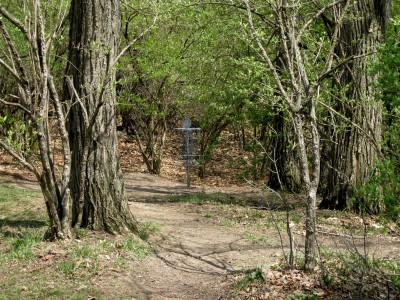 Hudson Mills Metropark, Monster course, Hole 2 Putt
