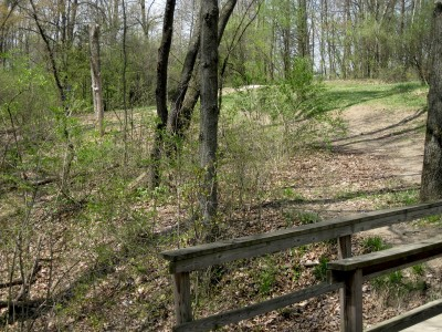 Hudson Mills Metropark, Monster course, Hole 4 Long approach