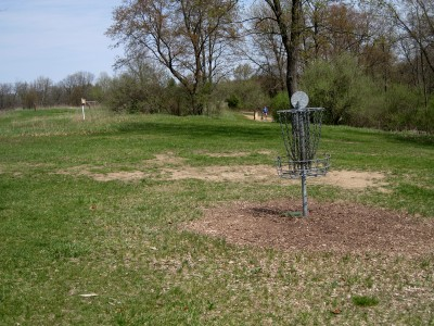 Hudson Mills Metropark, Monster course, Hole 8 Reverse (back up the fairway)