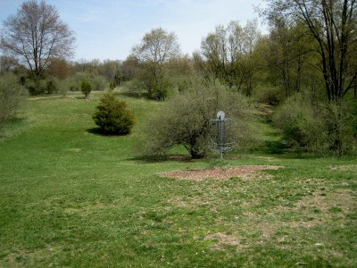 Hudson Mills Metropark, Monster course, Hole 7 Reverse (back up the fairway)