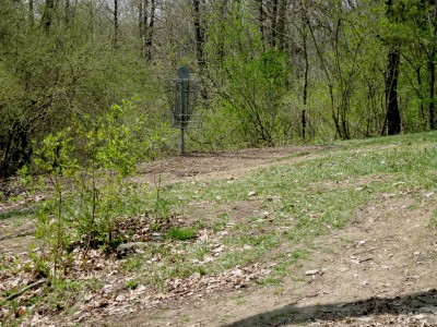 Hudson Mills Metropark, Monster course, Hole 4 Putt