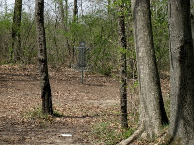 Hudson Mills Metropark, Monster course, Hole 6 Midrange approach