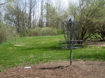 Hudson Mills Metropark, Monster course, Hole 3 Reverse (back up the fairway)