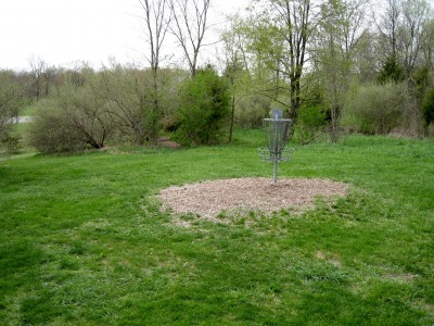 Hudson Mills Metropark, Monster course, Hole 15 Reverse (back up the fairway)