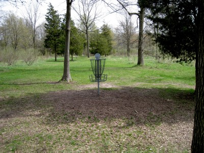 Hudson Mills Metropark, Monster course, Hole 12 Reverse (back up the fairway)
