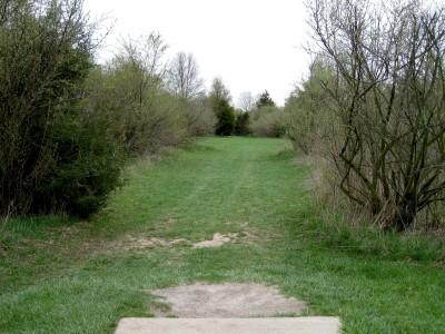 Hudson Mills Metropark, Monster course, Hole E Short tee pad