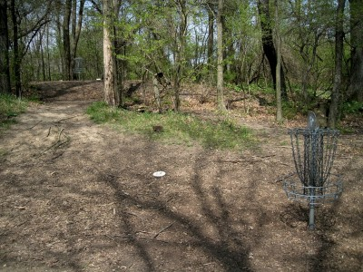 Hudson Mills Metropark, Monster course, Hole 1 Putt