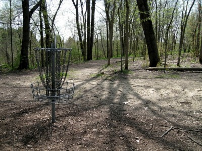 Hudson Mills Metropark, Monster course, Hole 1 Reverse (back up the fairway)