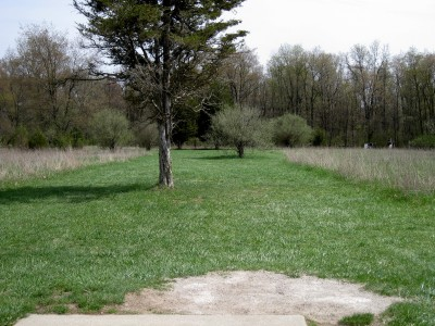 Hudson Mills Metropark, Monster course, Hole 10 Short tee pad