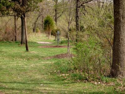 Hudson Mills Metropark, Monster course, Hole 13 Midrange approach