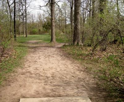 Hudson Mills Metropark, Monster course, Hole 13 Short tee pad