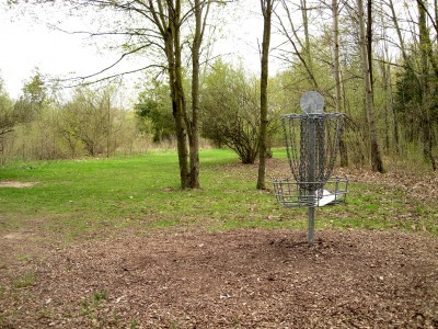 Hudson Mills Metropark, Monster course, Hole C Reverse (back up the fairway)