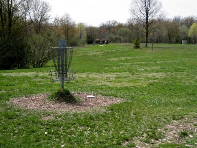 Hudson Mills Metropark, Monster course, Hole 9 Reverse (back up the fairway)