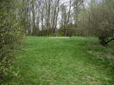 Hudson Mills Metropark, Monster course, Hole 15 Midrange approach