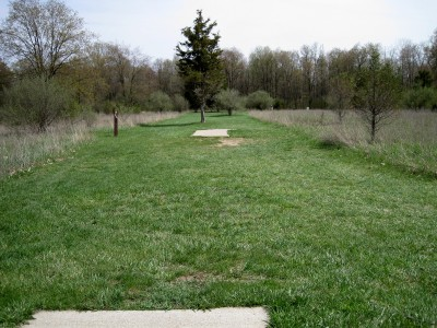 Hudson Mills Metropark, Monster course, Hole 10 Long tee pad