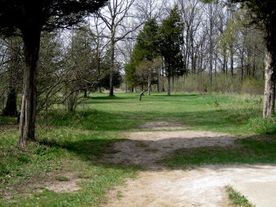 Hudson Mills Metropark, Monster course, Hole 12 Short tee pad