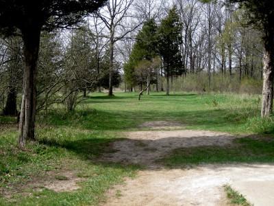 Hudson Mills Metropark, Monster course, Hole 12 Short tee pad