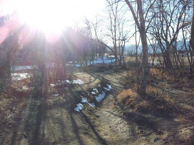 Cottonwood Creek Park, Main course, Hole 12 Tee pad