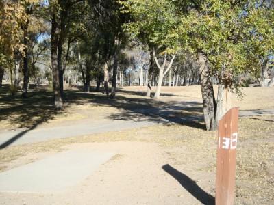 Widefield Park, Main course, Hole 13 Tee pad