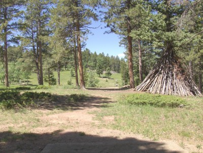 Beaver Ranch, Main course, Hole 6 Tee pad
