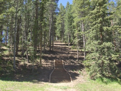Beaver Ranch, Main course, Hole 1 Tee pad