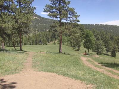 Beaver Ranch, Main course, Hole 16 Tee pad