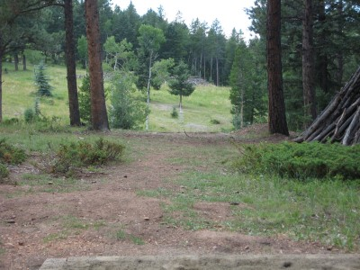 Beaver Ranch, Main course, Hole 5 Long tee pad