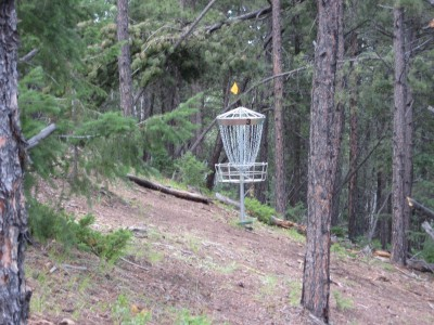 Beaver Ranch, Main course, Hole 3 Midrange approach