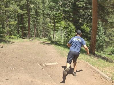 Beaver Ranch, Main course, Hole 20 Tee pad