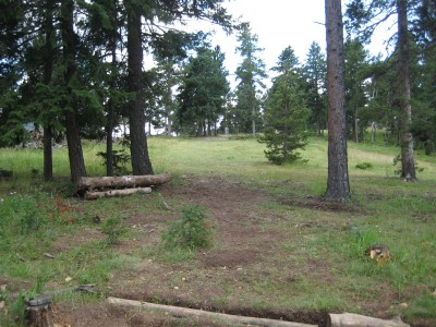 Beaver Ranch, Main course, Hole 9 Tee pad
