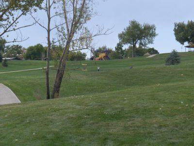 Camenisch Park, Badlands, Hole 16 Long approach