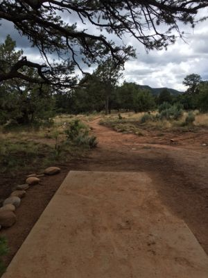 Fort Lewis College, Main course, Hole 9 Tee pad