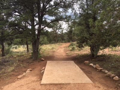 Fort Lewis College, Main course, Hole 8 Tee pad