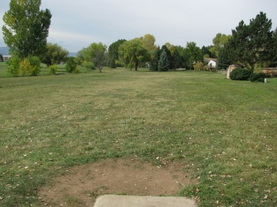 Boltz Jr. High School, Main course, Hole 6 Tee pad