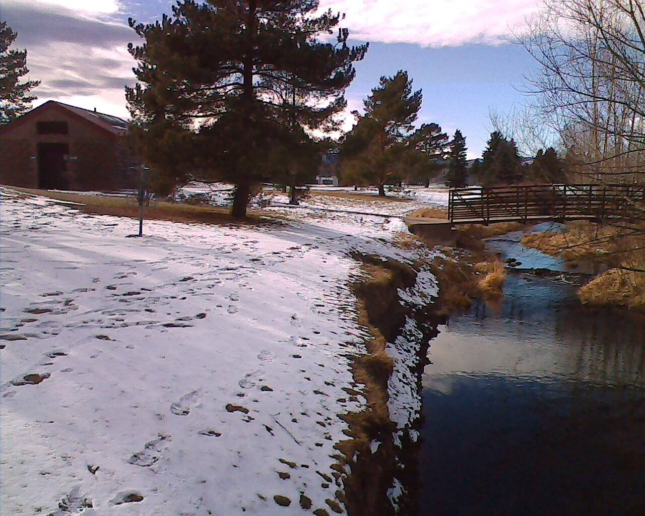 Hole 17 • Edora Park (Fort Collins, CO)