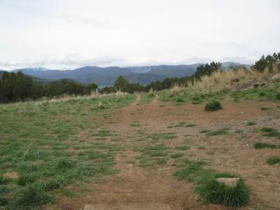 Colorado Mountain College, Glenwood, Main course, Hole 1 Tee pad